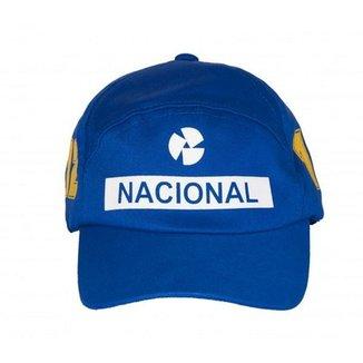 Boné Fórmula Retrô Banco Nacional b2dfa7805b3