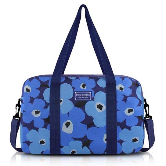 8441125a4 Bolsa de Viagem Jacki Design Poliéster - Azul | Netshoes