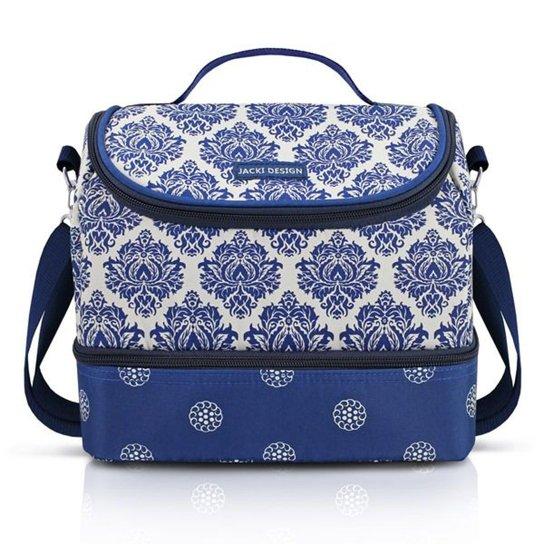 da093b7a5d Bolsa Térmica com 2 Compartimentos Jacki Design Bella Vitta - Azul ...