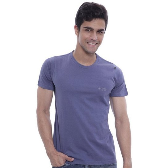 43b13e2f5 Camiseta Oitavo Ato Monitor Masculina - Azul - Compre Agora
