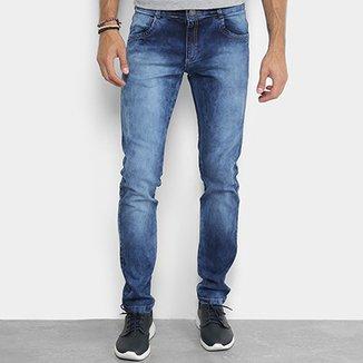 630b484e7 Calça Jeans Skinny Coffee Estonada Masculina