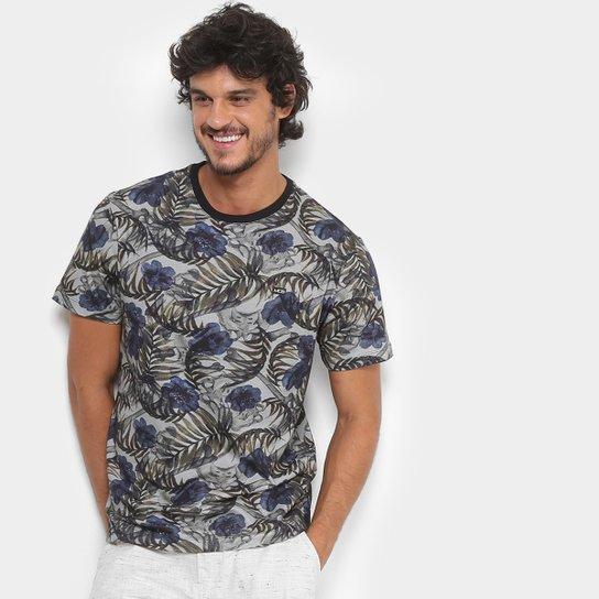 Camiseta MCD Especial Full Tropical Bones Masculina - Azul - Compre ... f304cac8d21