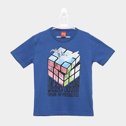 Camiseta Infantil Kyly Cubo Mágico