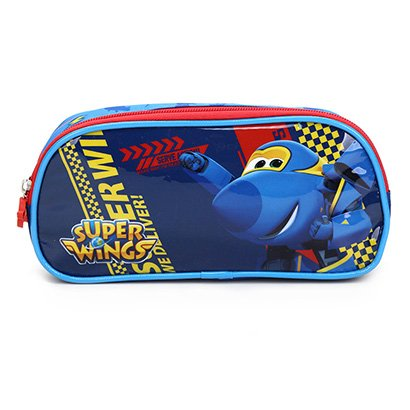 Estojo Infantil Luxcel Super Wings Duplo