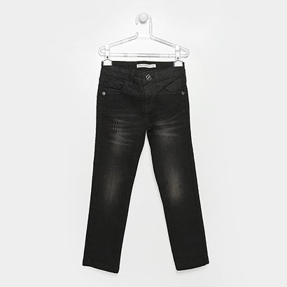 Calça Jeans Infantil Lilica Ripilica Estonada Feminina
