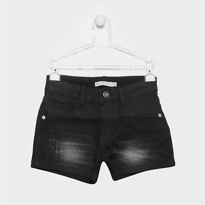 Short Jeans Infantil Lilica Ripilica Estonada Feminina