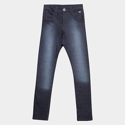 Calça Jeans Tigor Estonada Infantil