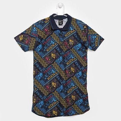 Camisa Polo Tigor T. Tigre Infantil