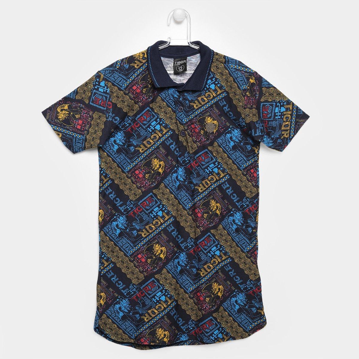 54ff270d1 Camisa Polo Tigor T. Tigre Infantil