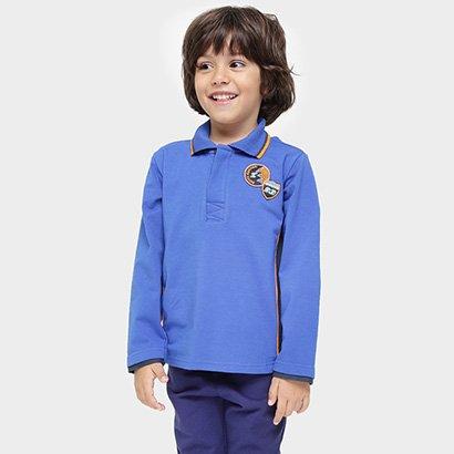 Camisa Polo Tigor Moto Raccer Infantil