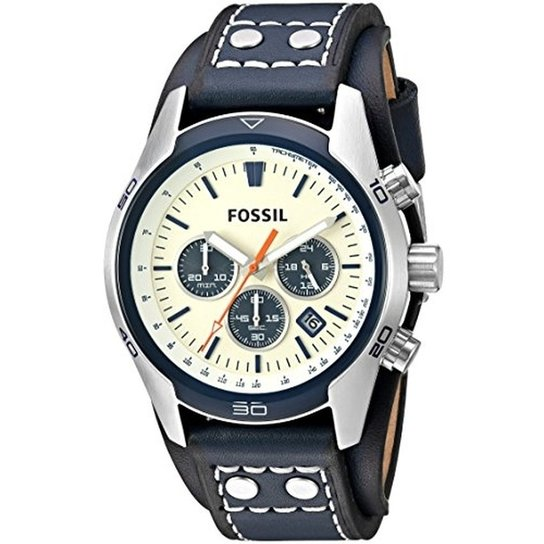 Relogio Fossil - Ch3051 - Azul - Compre Agora   Netshoes 71b3a0eec9