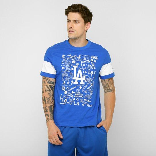 652509edcecc3 Camiseta New Era MLB Los Angeles Dodgers - Compre Agora