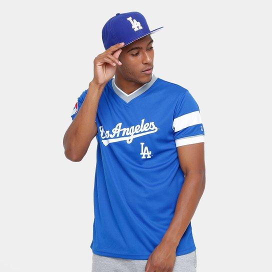 Camiseta New Era MLB Los Angeles Dodgers - Compre Agora  7e4ccc366b6