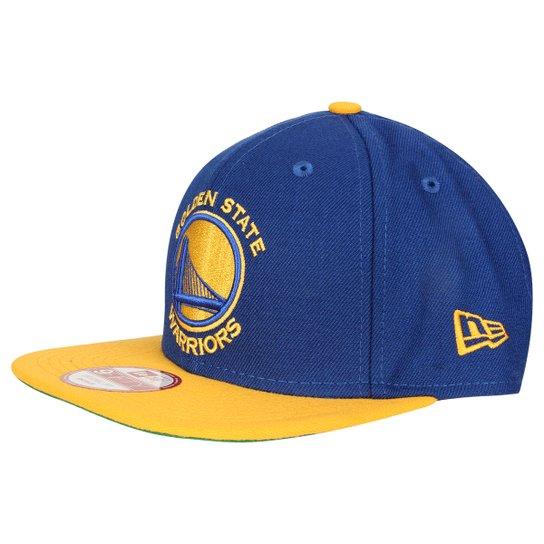 Boné New Era 950 Of Sn NBA Two Tone Golden State Warriors - Azul+amarelo a0f52c67263