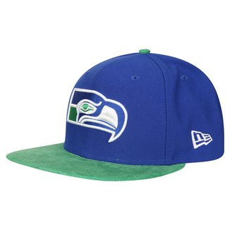 Boné New Era 950 NFL Of Sn Retro Tone Seattle Seahawks Otc 594752e8fb6
