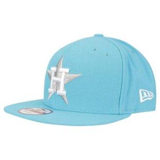 Compre Bone New Era Logomotion Houston Astros Online  deb0bcf26f6