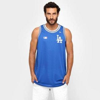 d9510789b7 Camiseta Regata New Era MLB Los Angeles Dodgers