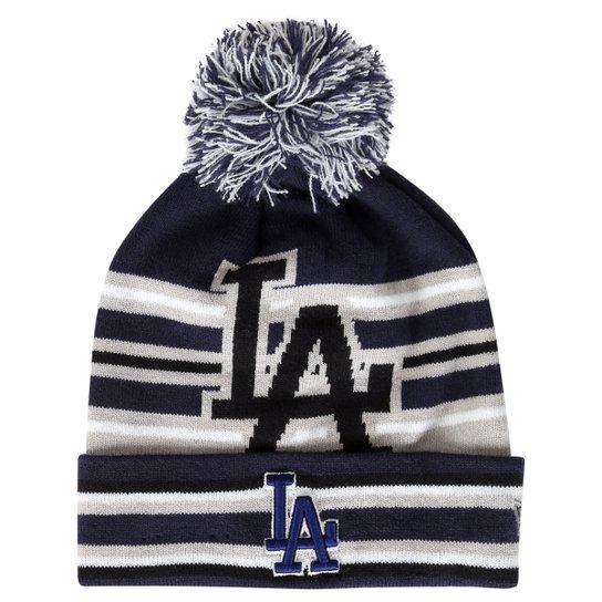 24805fabb Gorro New Era MLB Strike Through Los Angeles Dodgers Otc - Compre ...