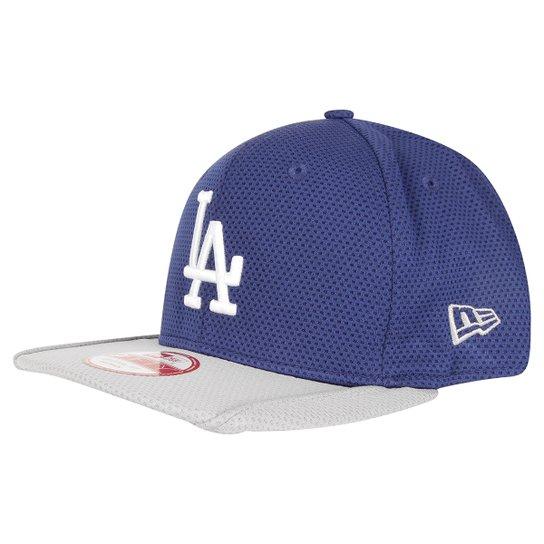 Boné New Era MLB 950 Sn Tonal Pipping Los Angeles Dodgers - Azul ... 08fc51499a6