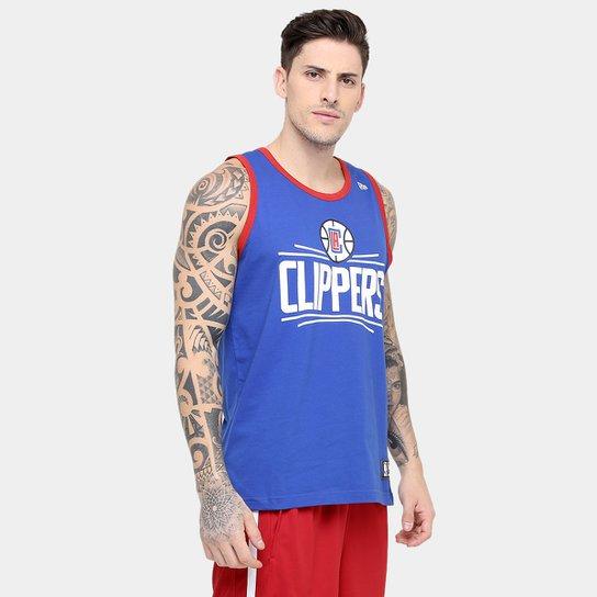 06cd83a05 Camiseta Regata New Era NBA Basic Logo Los Angeles Clippers - Compre ...