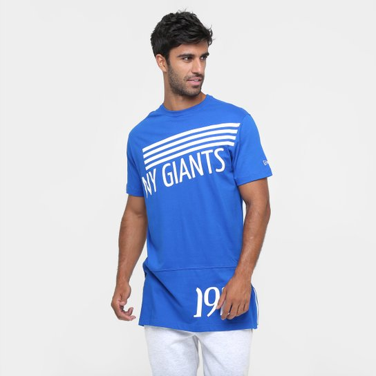 d4b1737db8 Camiseta New Era NFL Zipeer Long New York Giants - Compre Agora ...
