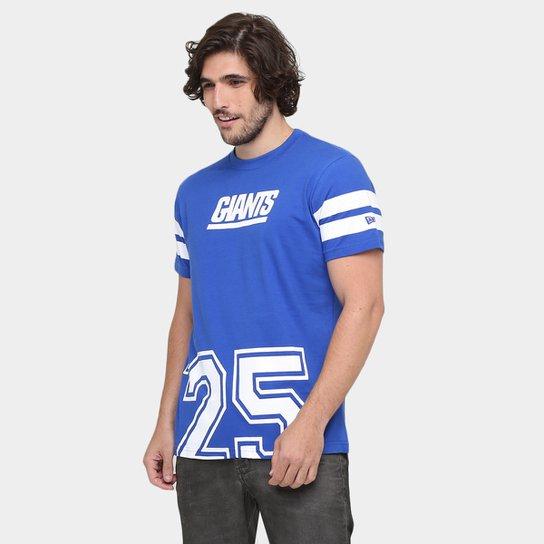 e3b01bce59 Camiseta New Era NFL Big Dates New York Giants - Azul