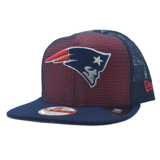 Boné New Era New England Patriots Meshed Up 950 Snapback - Compre ... 5b84ff37ca535