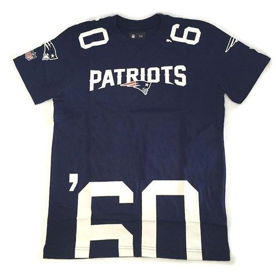 Camiseta New Era New England Patriots Number Cut NFL - Compre Agora ... 338edfdfb3e