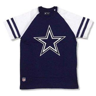 f51175f259 Camiseta Dallas Cowboys NFL Logo Raglan - New Era