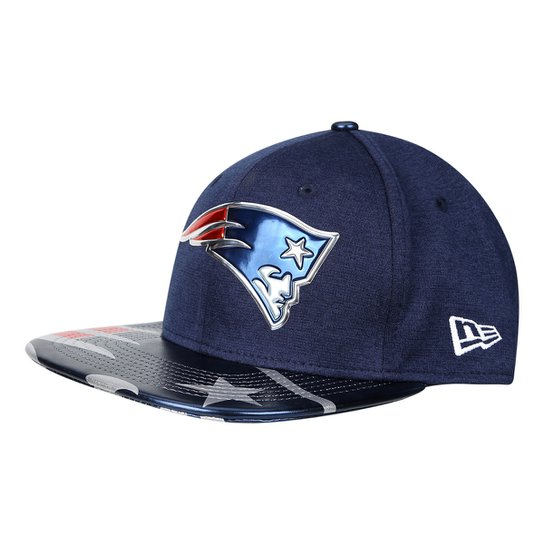 Boné New Era New England Patriots Aba Reta 950 Original Fit Sn On Stage  Masculino - 2efadee12c795
