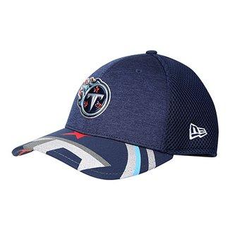 2c59269960ece Boné New Era NFL Tennessee Titans Aba Curva 3930 On Stage Masculino