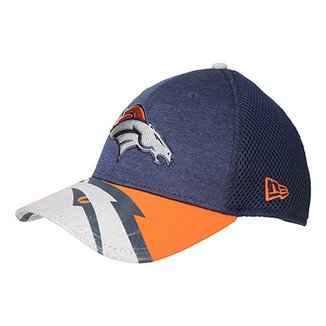 Boné New Era NFL Denver Broncos Aba Curva 3930 On Stage Masculino 7e26db043bb