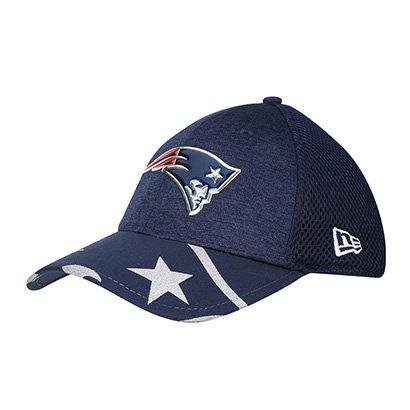Boné New Era New England Patriots Aba Curva 3930 On Stage Masculino 7287fb1aa0a