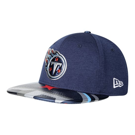 6090874be Boné New Era NFL Tennessee Titans Aba Reta 950 Original Fit Sn On Stage  Masculino -