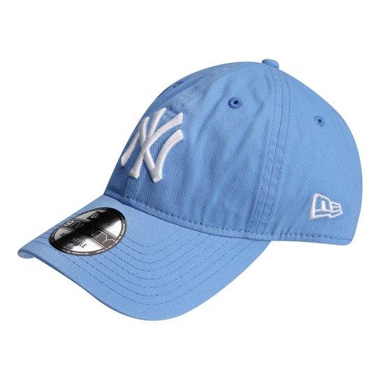 bbb8d6638ab15 Boné New Era NFL New York Yankees Aba Curva 920 St Pastels Masculino - Azul