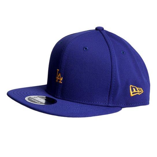 d3a14ee5237e3 Boné New Era MLB Los Angeles Dodgers Aba Reta 950 Of Sn Lic1026 Su17 - Azul