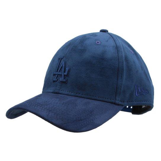 8a176b81d Boné New Era MLB Los Angeles Dodgers Aba Curva Tonal Suede - Compre ...