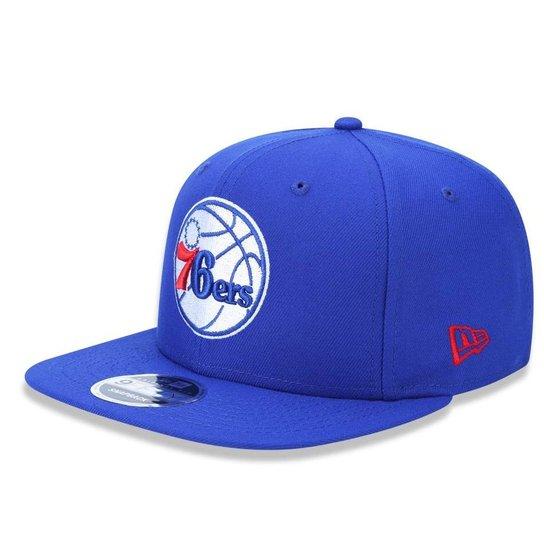 4a7fcd5ae Boné Philadelphia 76ers 950 Primary New Era - Azul - Compre Agora ...