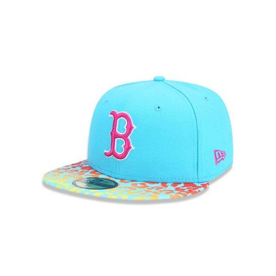 Boné 5950 Boston Red Sox MLB Aba Reta New Era - Compre Agora  e47d4919992