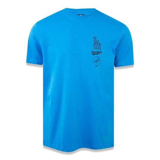 Camiseta Los Angeles Dodgers MLB New Era - Azul - Compre Agora ... 8e0e3310fc9