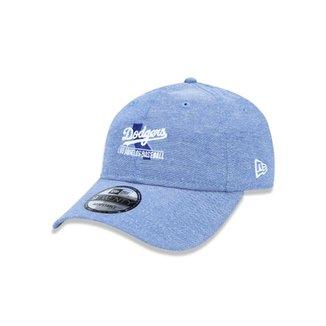 15d7e52ef8 Boné 920 Los Angeles Dodgers MLB Aba Curva Strapback New Era