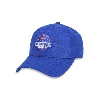 Boné 940 New York Knicks NBA Aba Curva Snapback New Era 755b12c93e8