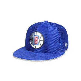 Boné 950 Los Angeles Clippers NBA Aba Reta Snapback New Era 6ef4c799935