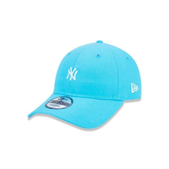 bb0b2f940f Boné 920 New York Yankees MLB Aba Curva Strapback New Era - Compre ...