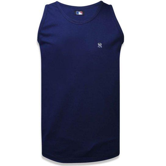 Regata New York Yankees Sport Outlet New Era Masculina - Azul ... 155f1d71233