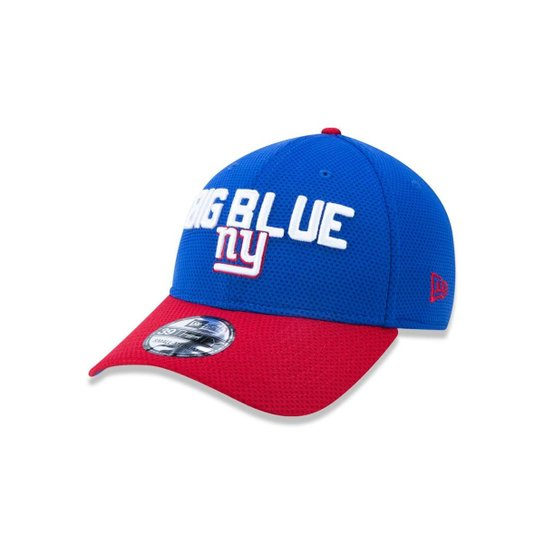 Boné 3930 New York Giants NFL Aba Curva New Era - Azul - Compre ... 83294c21e49