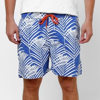 e5e5113f09f Short Pacific Blue Estampado Elástico