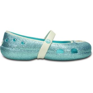 906a1e21ba93 Sapatilha Crocs Infantil Keeley Frozen Flat Pool