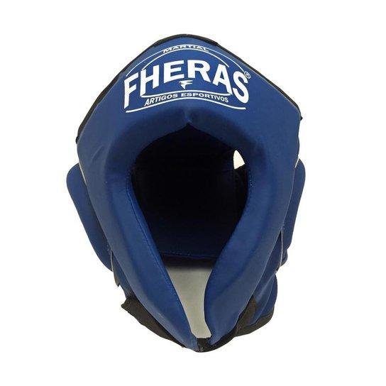 Protetor de Cabeça Capacete Sem Grade Fheras - Azul - Compre Agora ... defbfcfd2d