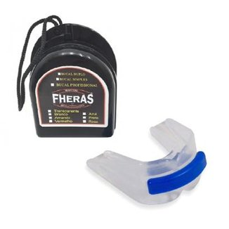 6ccf1c0a1 Protetor Bucal Anti Bruxismo Duplo Silicone c  Furo de Respiração
